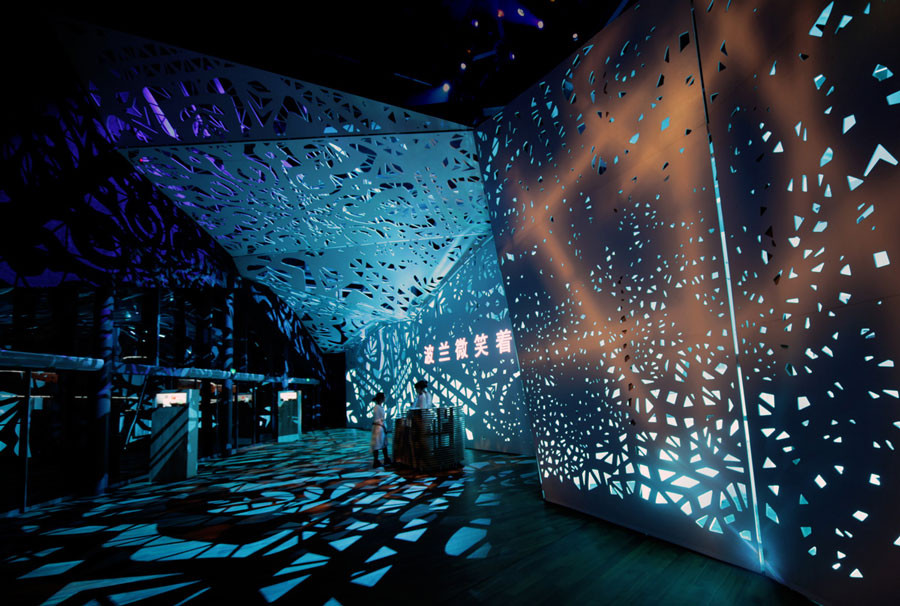 Exhibition In Polish Pavilion EXPO 2010